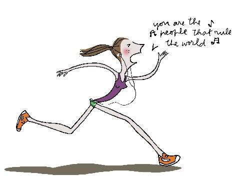 running-dessin-les-paresseuses