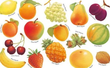 fruit qui commence par a