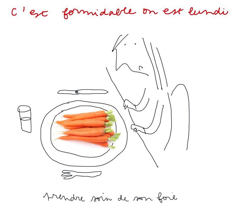 1cure carotte