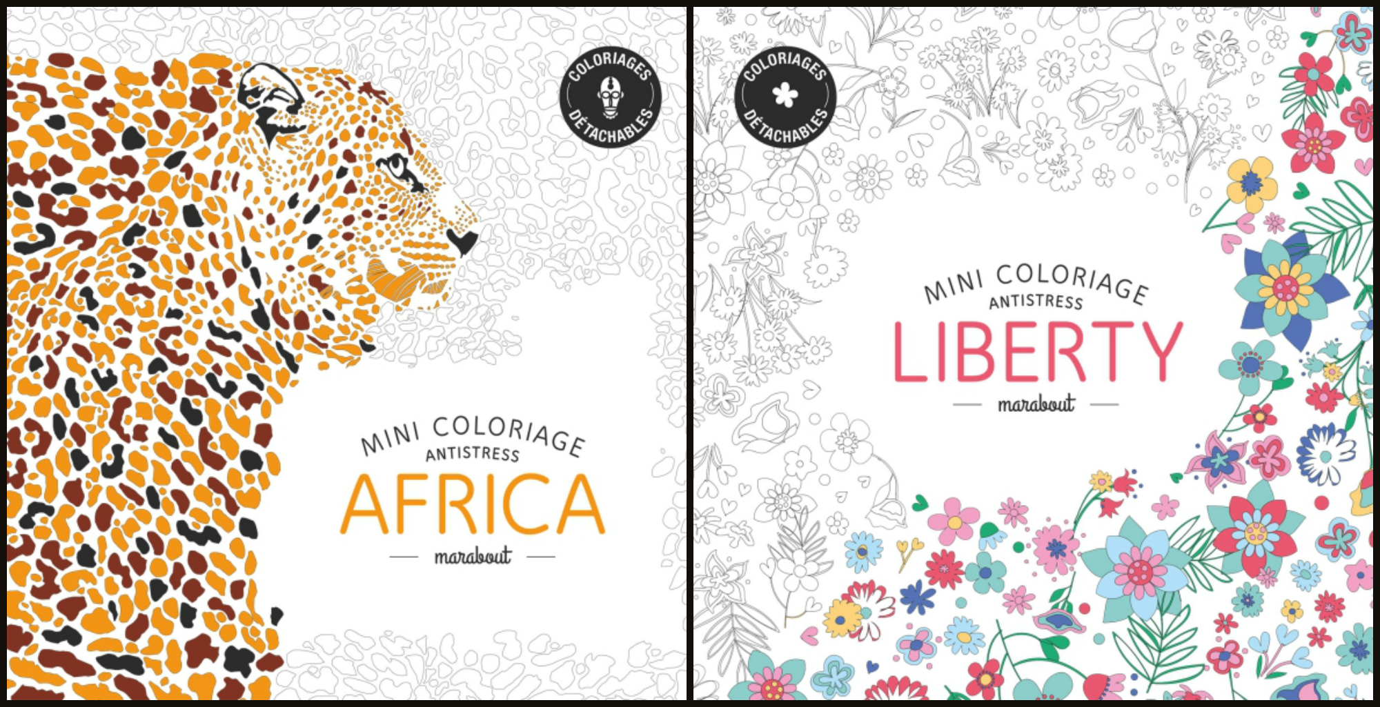coloriage anti stress marabout