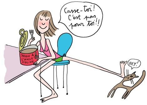 le blog des paresseuses mon amie est un thon. Black Bedroom Furniture Sets. Home Design Ideas